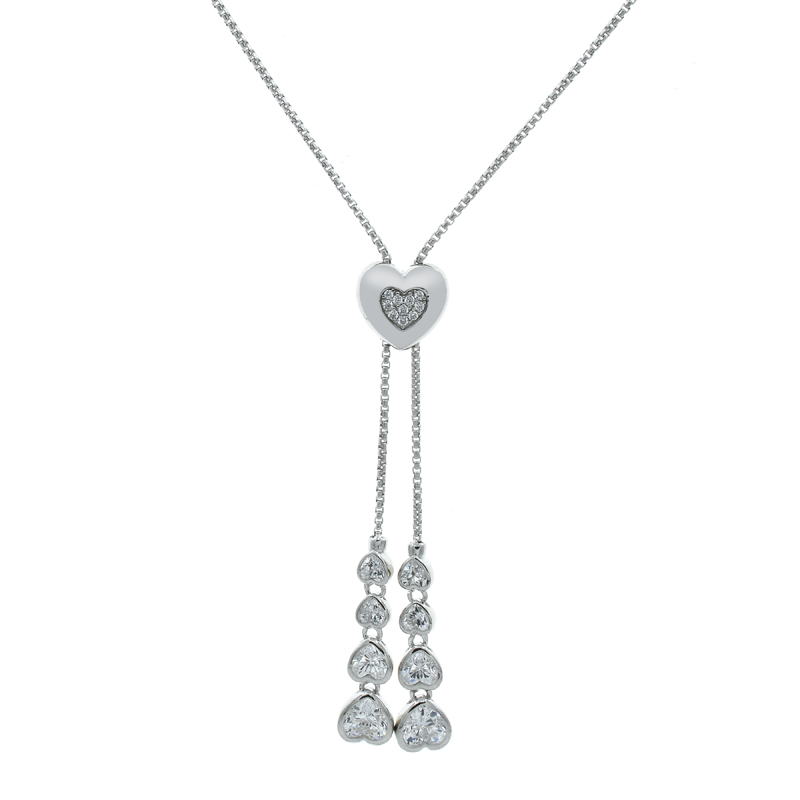 sterling adjustable necklace for ladies