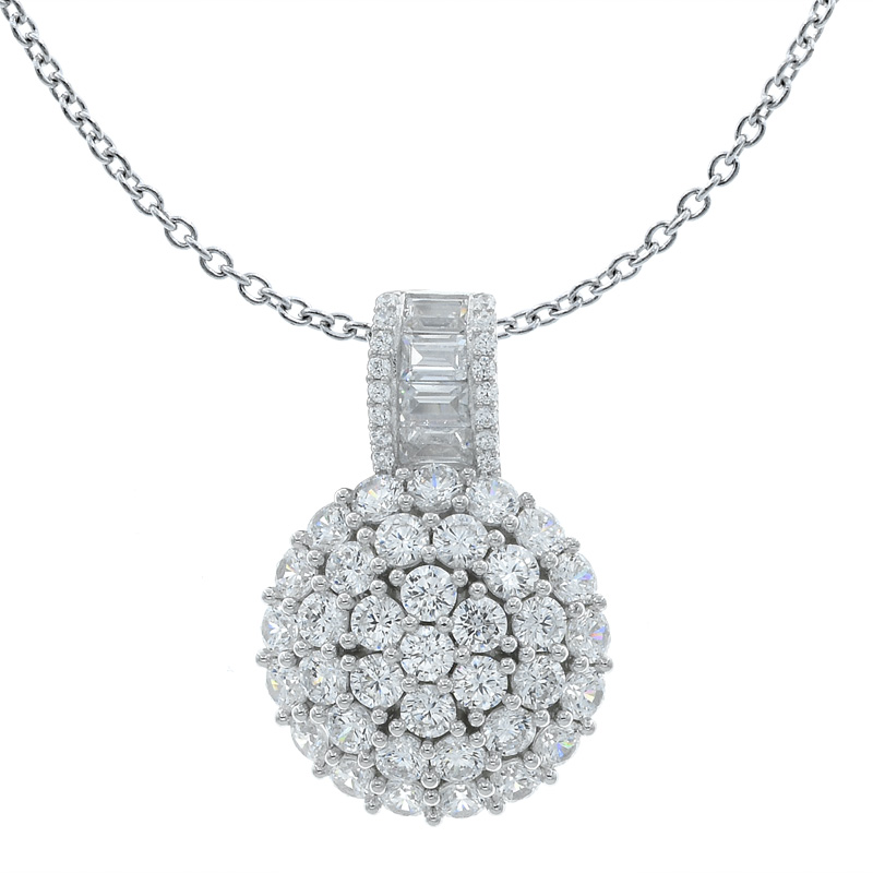 Sightly Women Round Shape Pendant