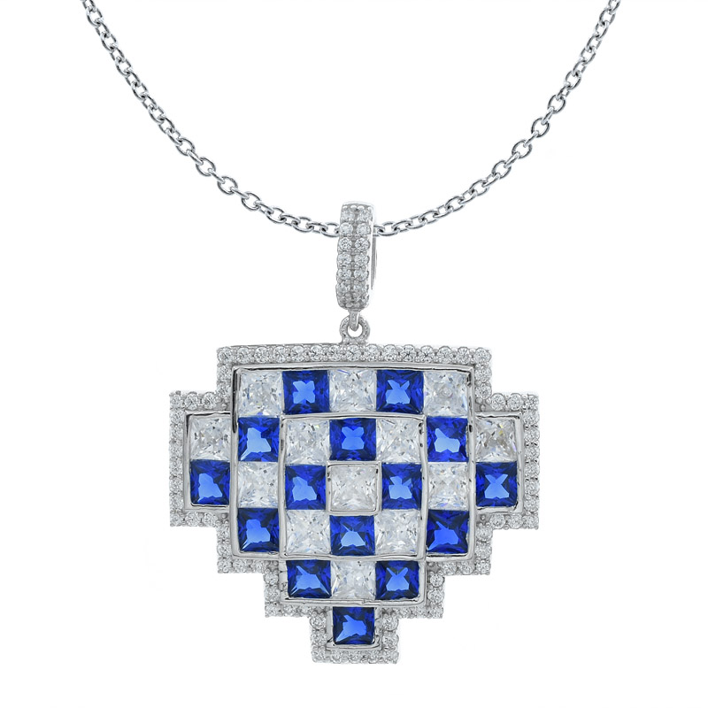 Lattice 925 Pendant For Ladies