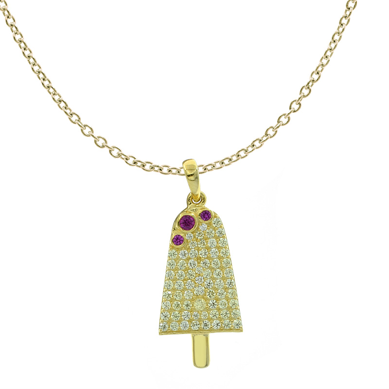 Women Winsome Ice Cream Pendant