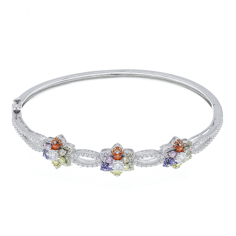 Multicolor Flower Bangle For Ladies