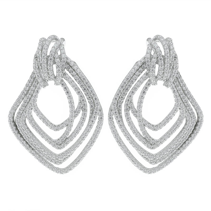 Women Multi Lines Jewelry Earrings