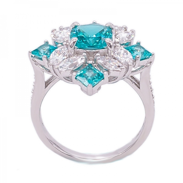 Special Paraiba YAG 925 Sterling Silver Ring