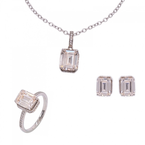 Morganite Peach Jewelry