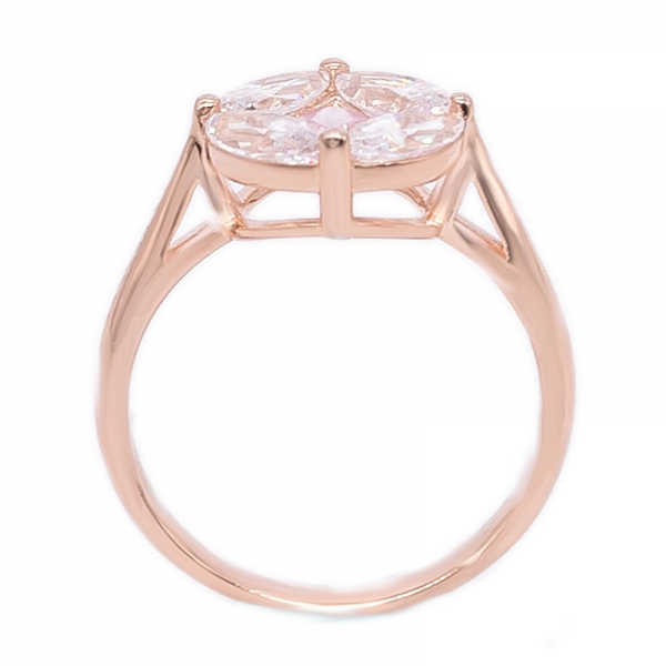 Sterling Rose Gold Plated 925 Ring