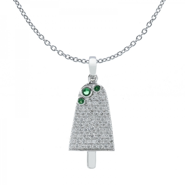 925 Winsome Ice Cream Pendant For Ladies