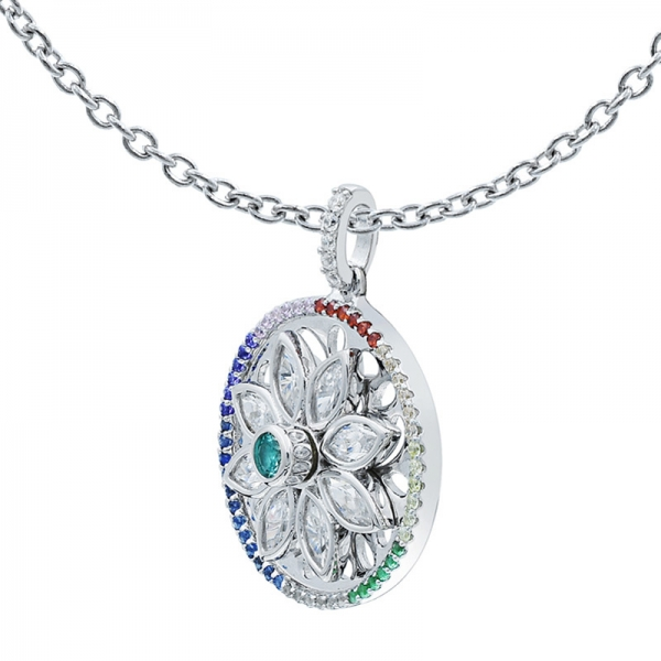 925 Silver Wonderful Spinning Pendant