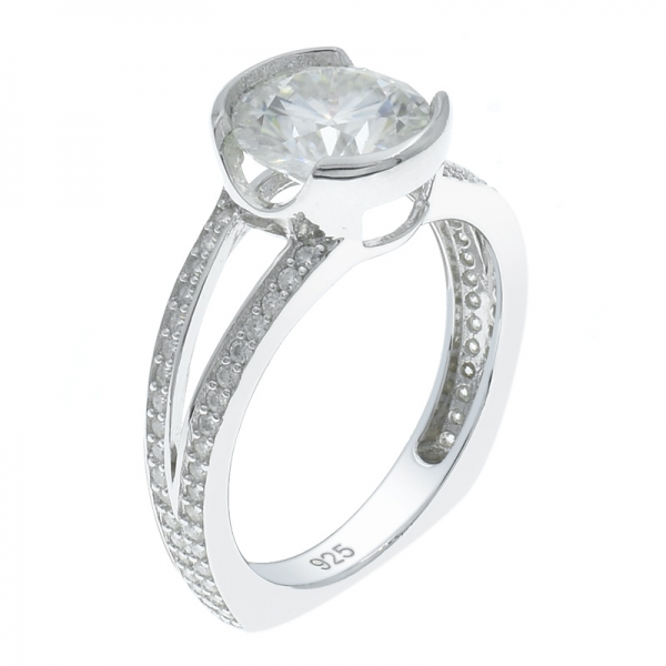 925 Silver Fabulous Solitaire White CZ Ring