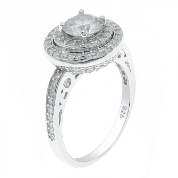925 Sterling Silver Gleaming Fashion Ladies Ring