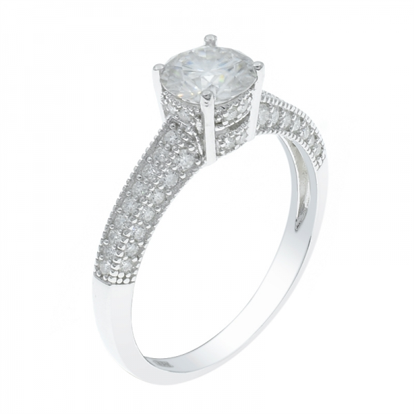 925 Sterling Silver Dramatic Ring For Ladies