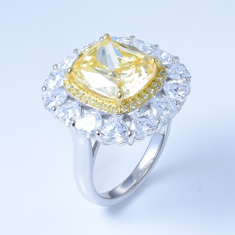 Wholesale 925 Sterling Silver Sun Flower Jewelry Ring With