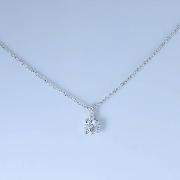 Fancy 925 Sterling Silver Bridal Necklace For Women